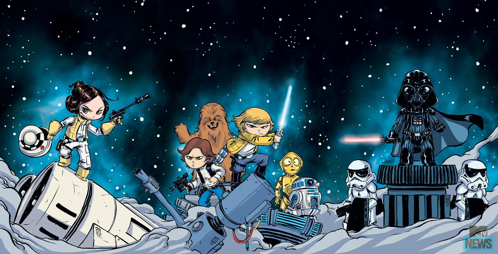 [ARTE] Star Wars em ilustrações (galeria)