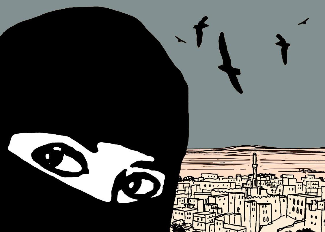 [QUADRINHOS] O Mundo de Aisha – A revolução silenciosa das mulheres no Iêmen (resenha)