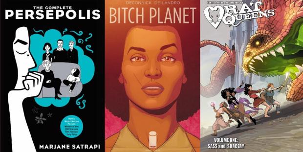 [QUADRINHOS] 6 Quadrinhos que toda mulher deveria ler (Parte 1)