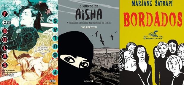 [QUADRINHOS] 6 Quadrinhos que toda mulher deveria ler (Parte 3)