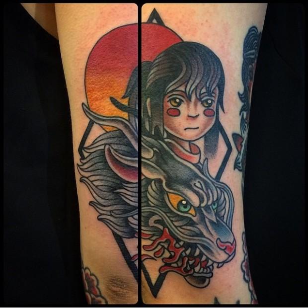 [ARTE] 40 Tatuagens de A Viagem de Chihiro para você amar