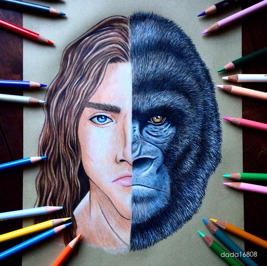 Tarzan & Kerchak