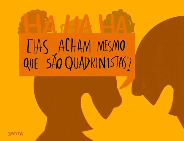 A Legião de Mulheres nos Quadrinhos no Brasil