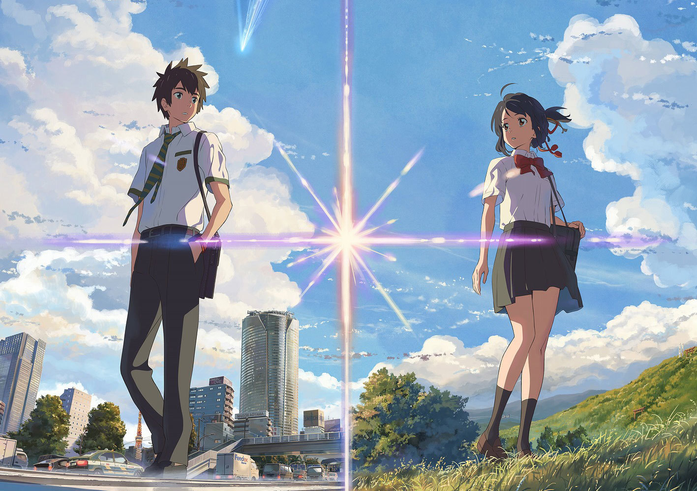 "[CINEMA] Confira o trailer e a data da estreia de ""Your Name"", novo filme de Makoto Shinkai"