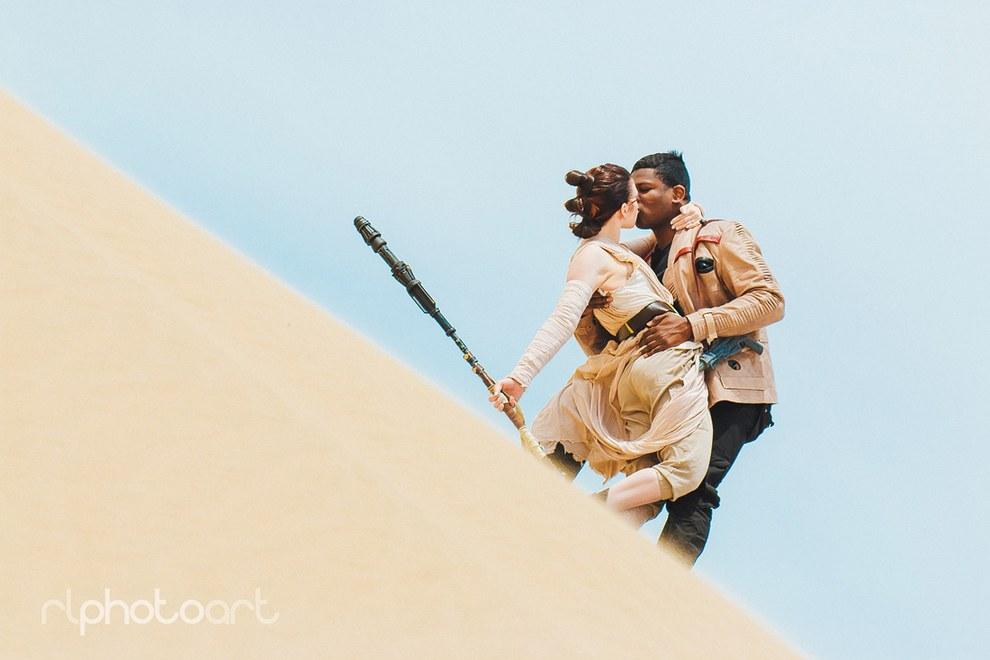 """[ARTE] Família faz ensaio inspirado em """"Star Wars – O Despertar da Força"""""""