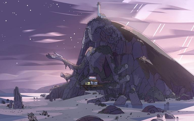 [ARTE] A narrativa dos cenários de Steven Universe