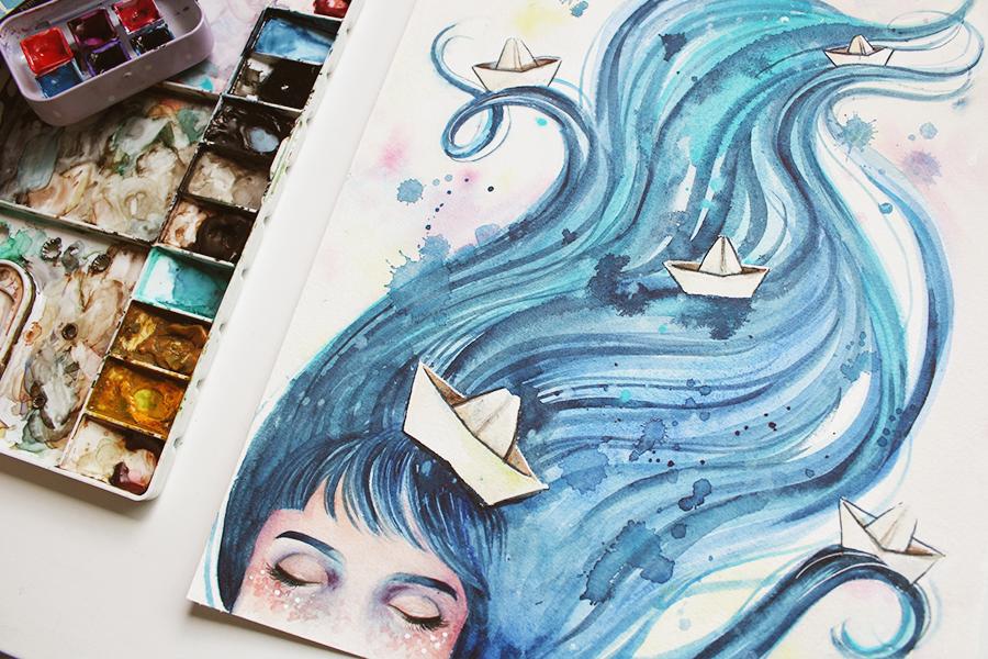 [ARTE] As lindas ilustrações de Juliana Rabelo