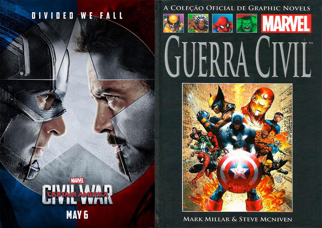 [CINEMA/HQ] Capitão América – Guerra Civil: duas visões sobre o mesmo filme