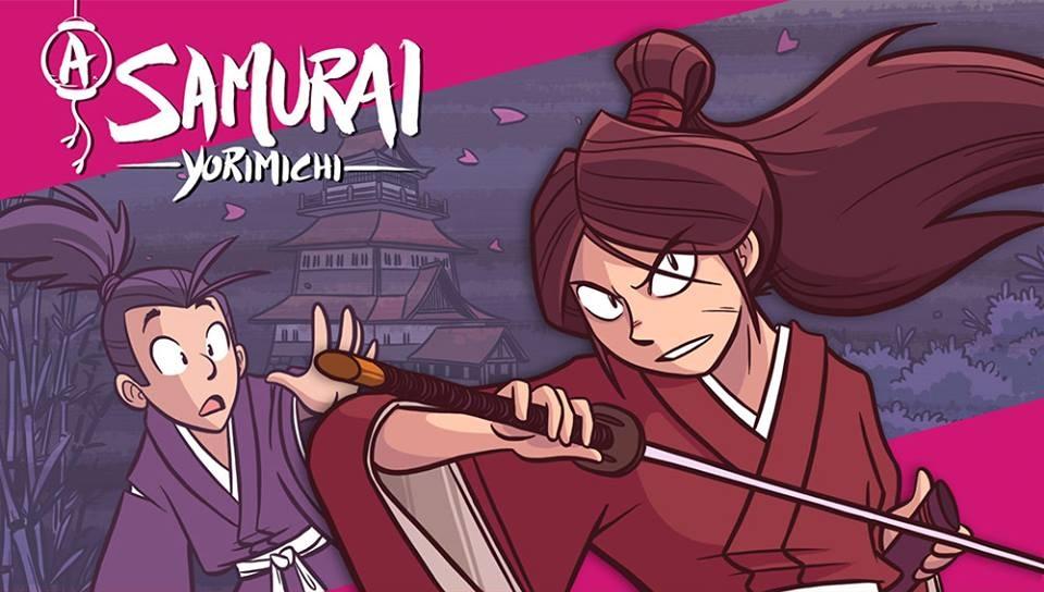 """[CATARSE] Protagonismo feminino e muito girl power continua em """"A Samurai: Yorimichi"""""""