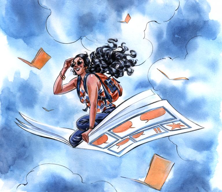 [EVENTO] Entrevista com Carol Rossetti (2º Encontro Lady's Comics)