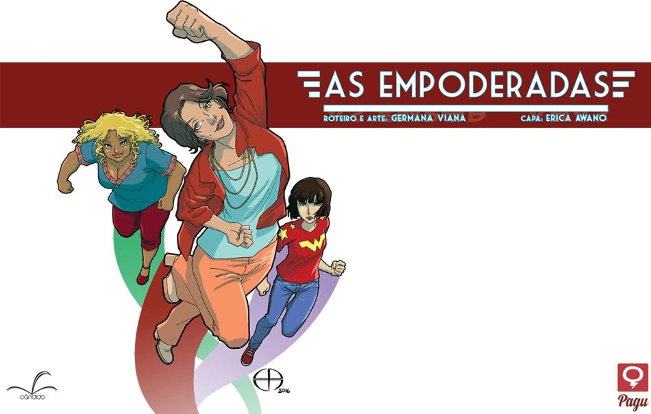 """[QUADRINHOS] """"As Empoderadas"""", primeiro quadrinho do selo Pagu Comics (resenha)"""