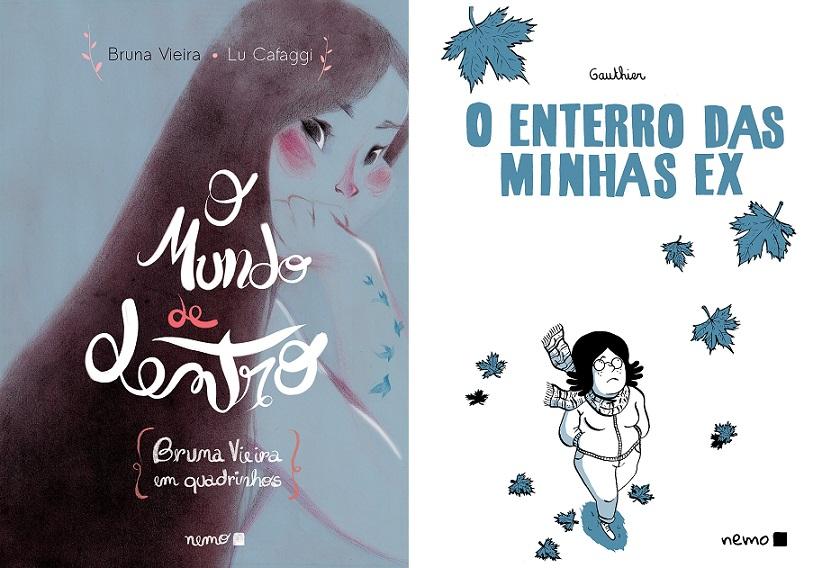 """[QUADRINHOS] """"O Mundo de Dentro"""" e """"O Enterro das Minhas Ex"""": os novos lançamento da Nemo"""