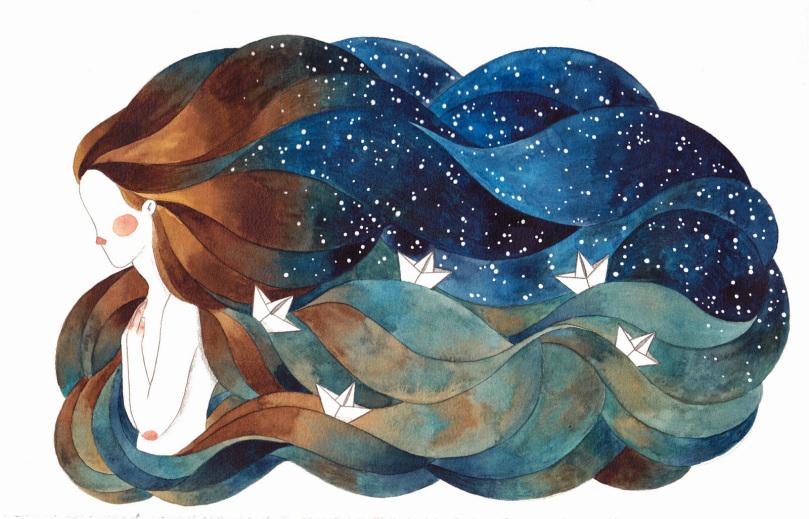 [ARTE] As ilustrações fantásticas de Gemma Capdevila (galeria)
