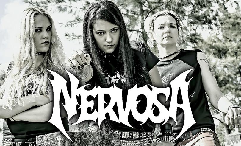 Nervosa: thrash metal brazuca da melhor qualidade