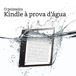 Kindle Oasis com frete grátis!