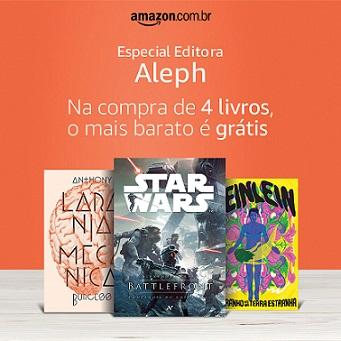 Editora Aleph - Na compra de 4 livros, o mais barato é grátis