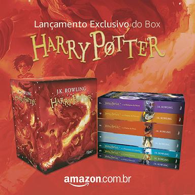Lançamento Box Harry Potter