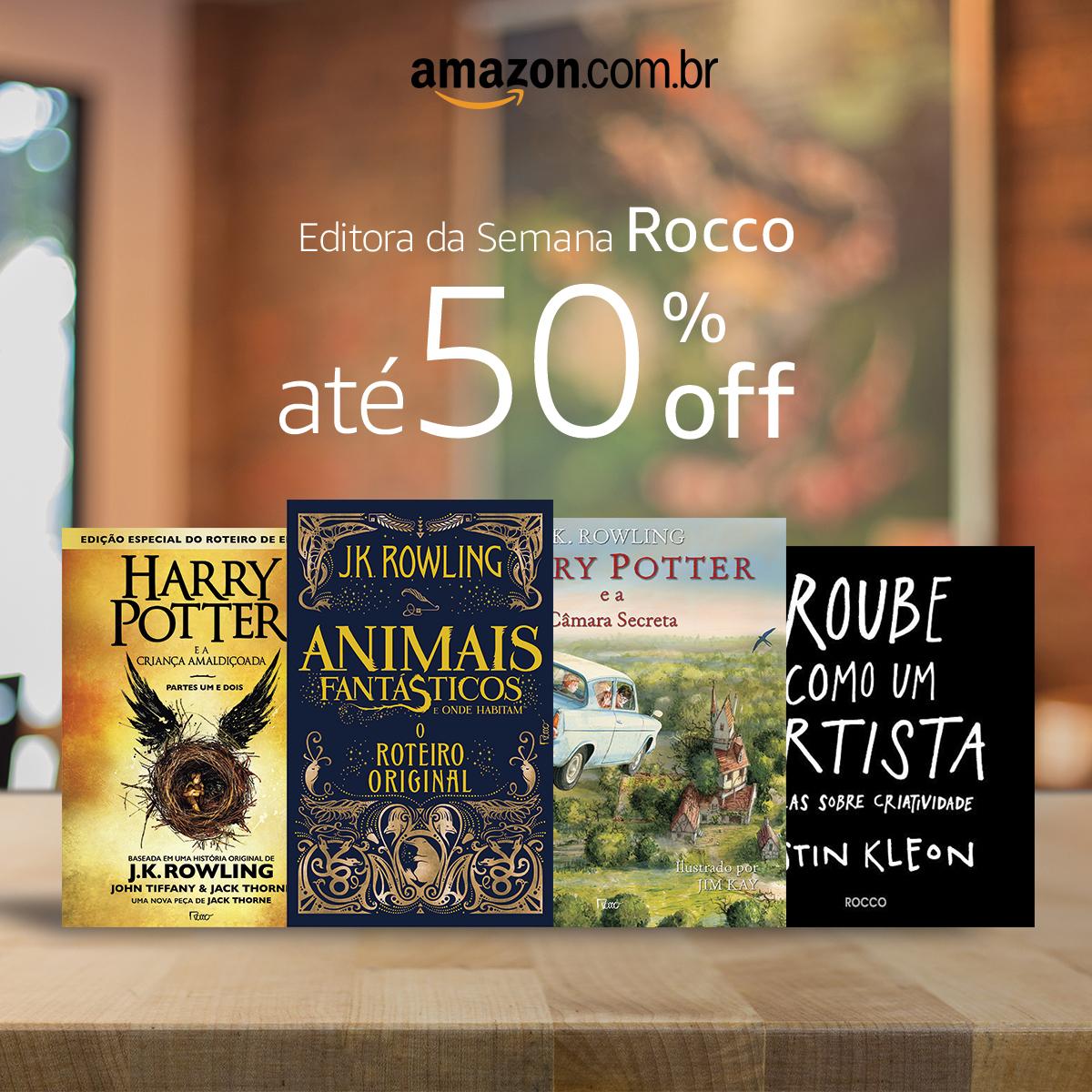 Editora Rocco com até 50% de Desconto
