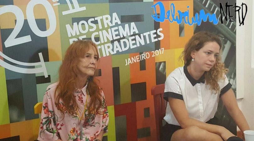 [CINEMA] 20ª Mostra de Cinema de Tiradentes: Helena Ignez e Leandra Leal falam sobre machismo no audiovisual