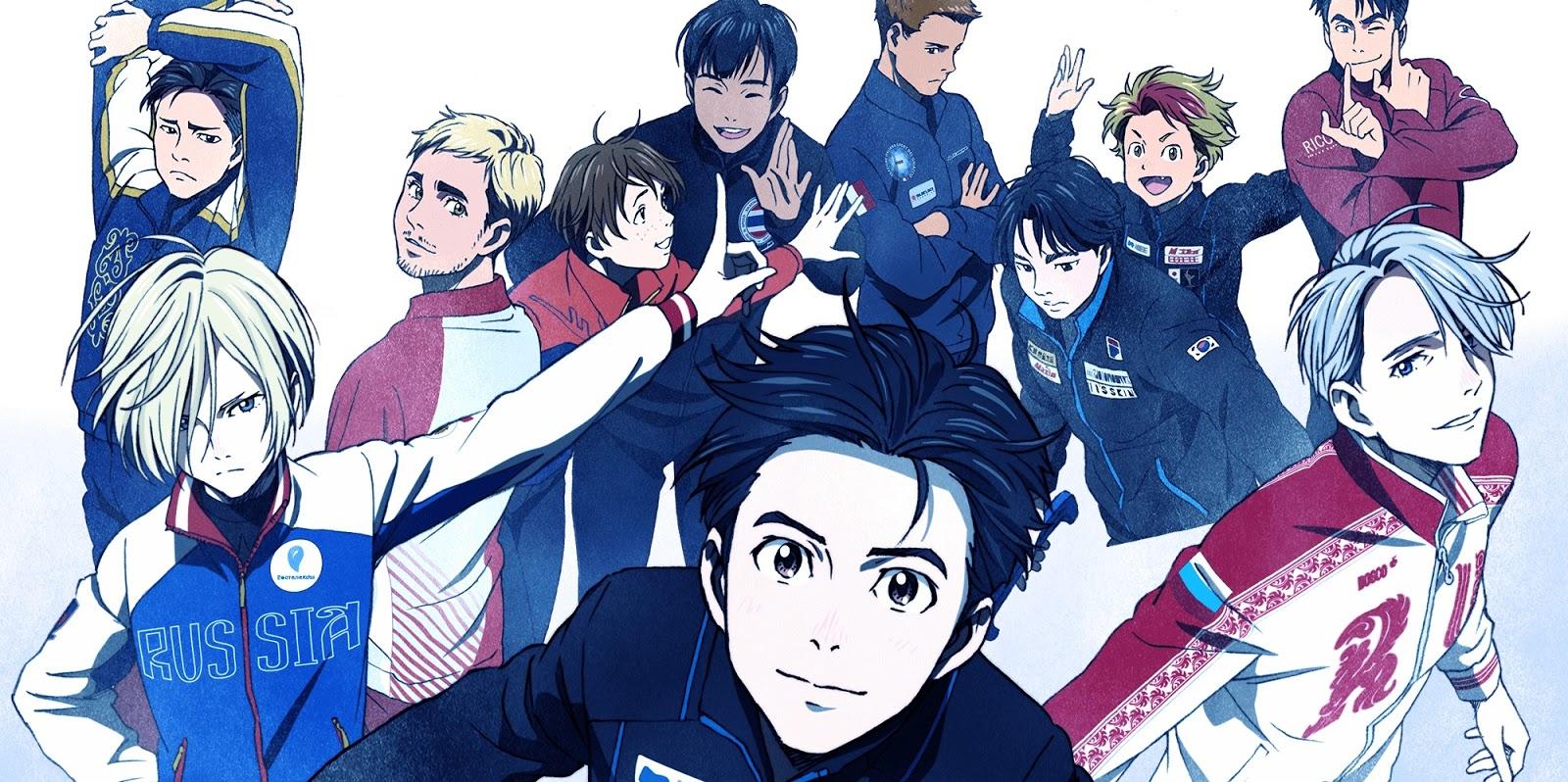 [ANIME] Yuri!!! On Ice: esporte para conquistar até os não fãs!