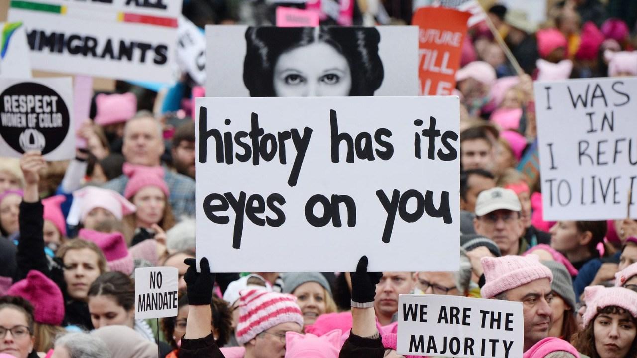 [NOTÍCIA] Women's March: cultura pop como resistência e o discurso de Angela Davis