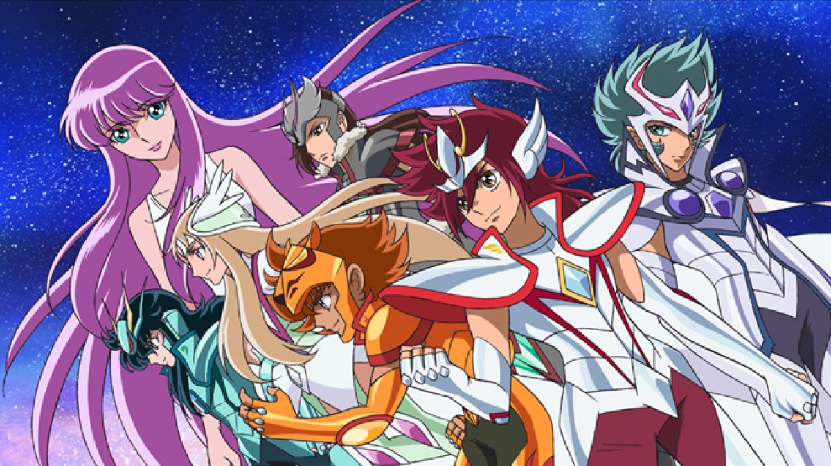 Saint Seiya Ômega, anime