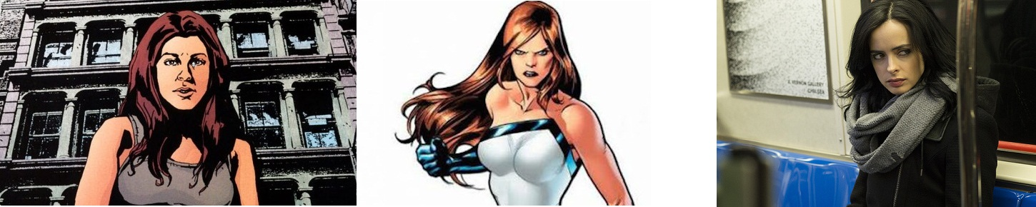 Personagens Femininas Jessica Jones