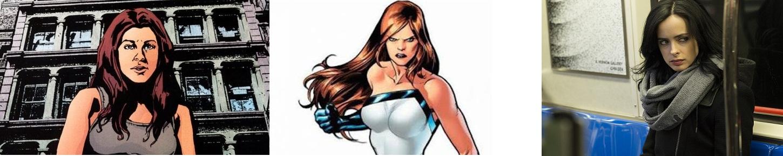 Personagens Femininas Jessica Jones