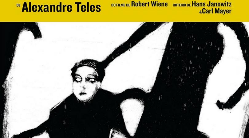 [QUADRINHOS] Caligari!: Veneta lança releitura do clássico filme de Robert Wiene