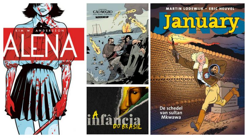 [NOTÍCIA] Avec Editora: Quadrinhos, literatura fantástica e os lançamentos previstos para 2017