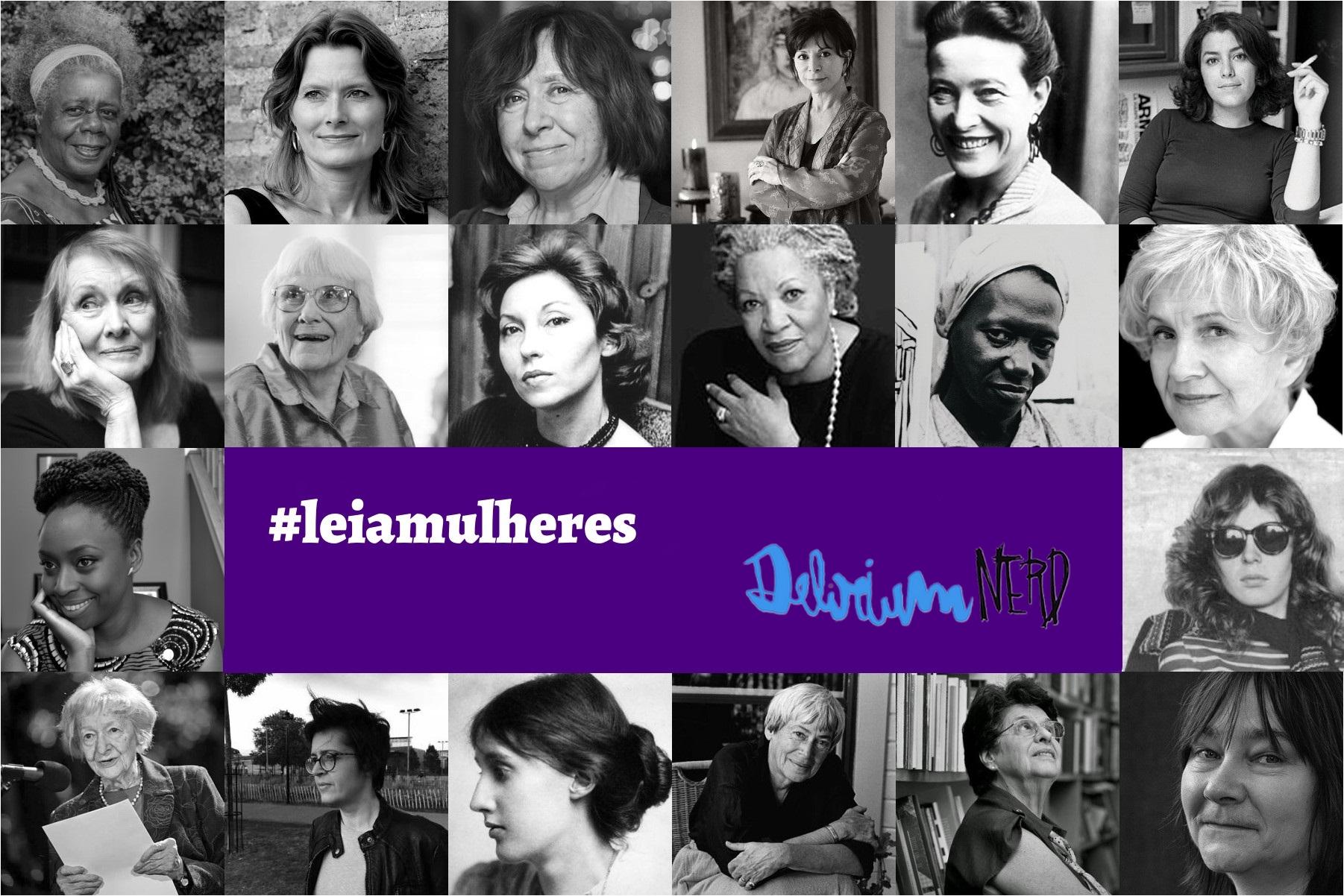 [LIVROS] Leia Mulheres: Projeto literário Delirium Nerd 2017