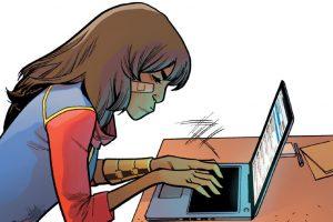 Kamala Khan, Ms. Marvel, fanfics