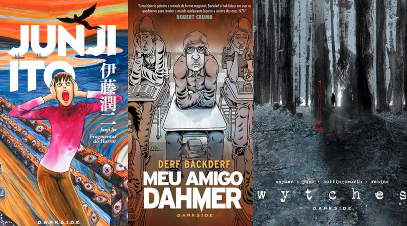 [QUADRINHOS] DarkSide Graphic Novel: Editora inaugura selo de quadrinhos de terror e anuncia 3 títulos