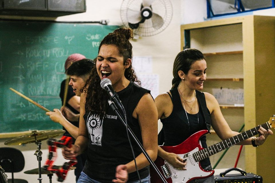 [EVENTO] Ladies Rock Camp aceita voluntárias!