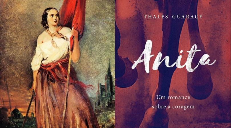 [LIVROS] Anita – Um Romance sobre a Coragem e a representação secundária da heroína