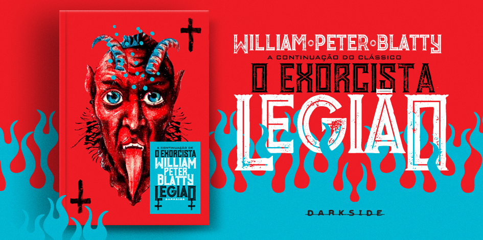 """[LIVRO] Legião: A continuação de """"O Exorcista"""" chega ao Brasil! (Resenha)"""