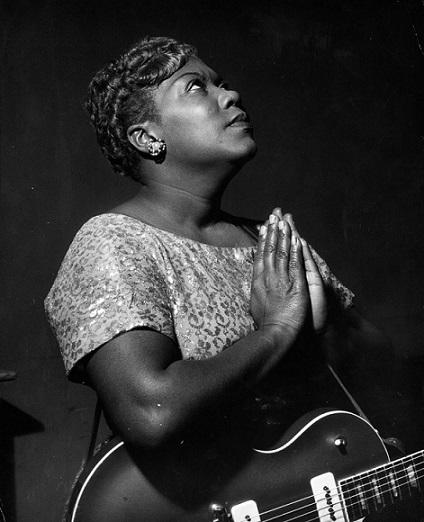 Negras no Rock, Sister Rosetta Tharpe