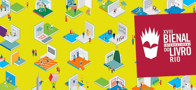 [EVENTO] XVIII Bienal do Livro Rio: Confira nossa cobertura do evento!