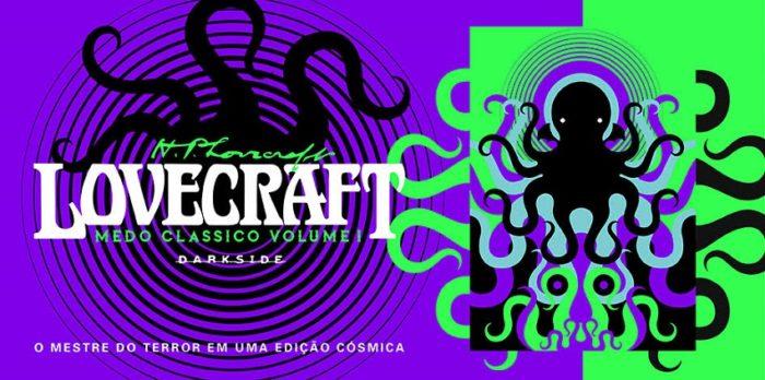 [LIVROS] DarkSide atendeu ao chamado de Cthulhu e lançou edições maravilhosas de H.P. Lovecraft!
