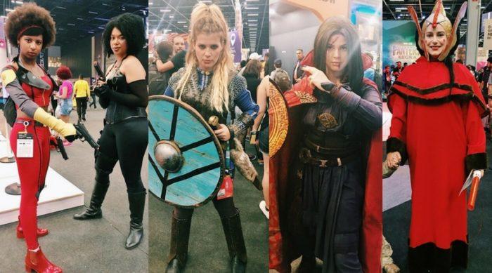 [CCXP 2017] Veja algumas cosplayers que trouxeram muito girl power nesta edição da CCXP!
