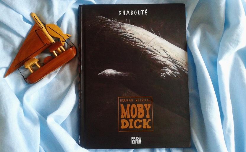 [QUADRINHOS] Moby Dick: Obsessão, insanidade e perseguição no quadrinho de Chabouté