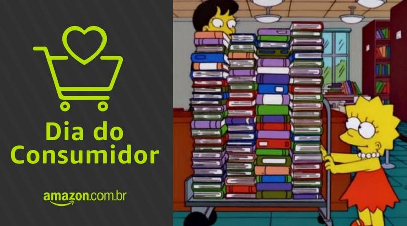[SEMANA DO CONSUMIDOR AMAZON] Livros e eBooks até 80% off, desconto em Kindles e muito mais!