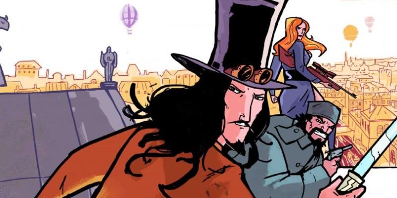 [QUADRINHOS] Le Chevalier – Arquivos Secretos: Um passeio por uma Paris steampunk