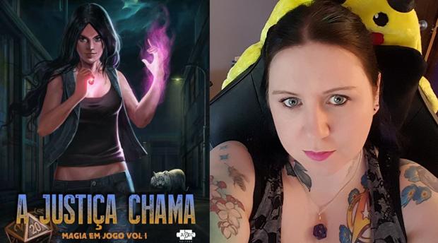 """[LIVROS] """"A Justiça Chama"""" traz a história de uma poderosa feiticeira gamer"""