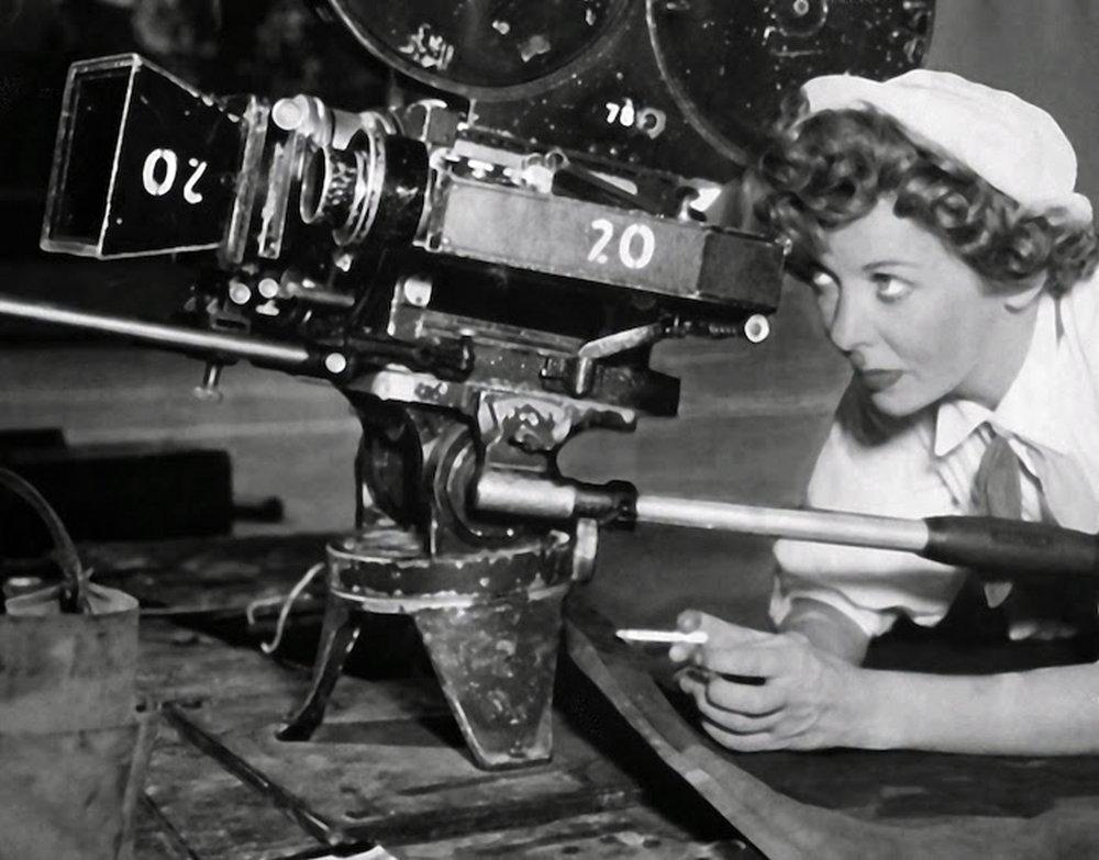 Ida Lupino criou a própria produtora de filmes ao lado do marido.