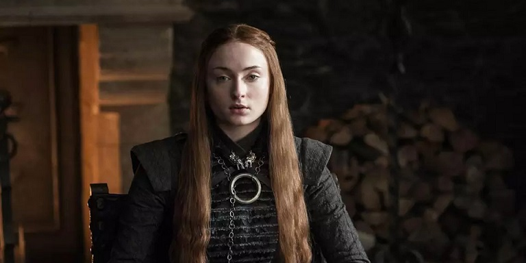Sansa Stark (Sophie Turner) em Game of Thrones
