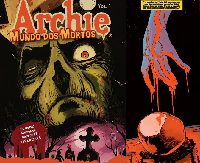 """[QUADRINHOS] Geektopia vai lançar """"Archie Mundo dos Mortos"""""""