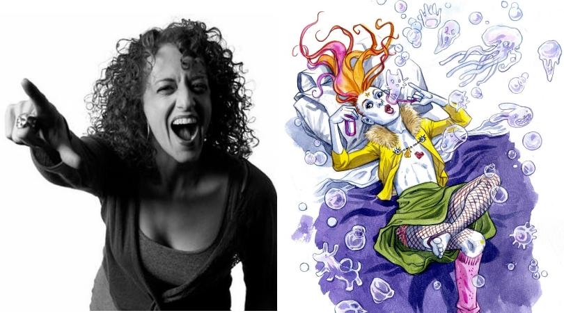 Jill Thompson: entre o sombrio e o colorido, tudo o que uma garota pode ser