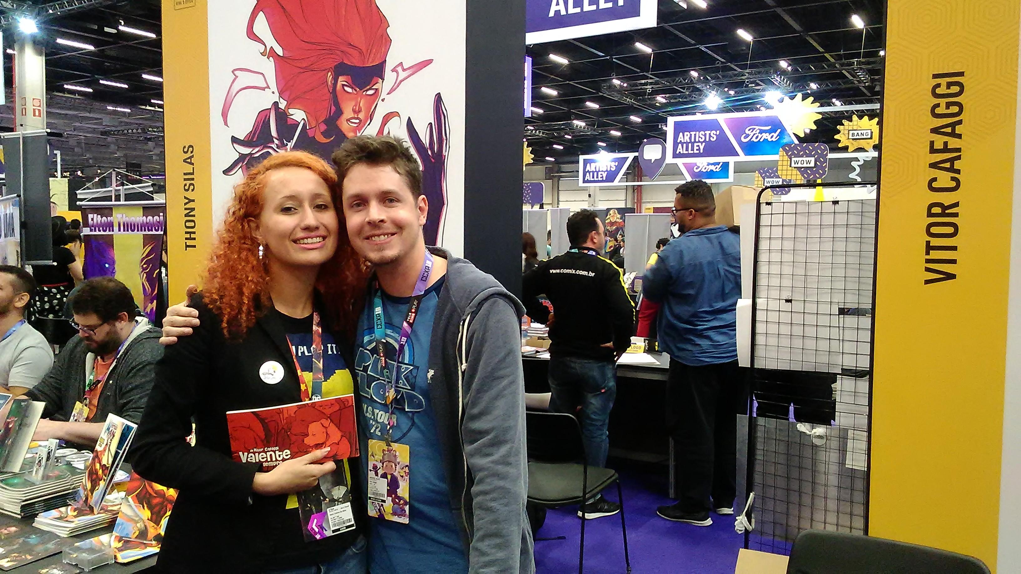 melhores momentos da Comic Con Experience