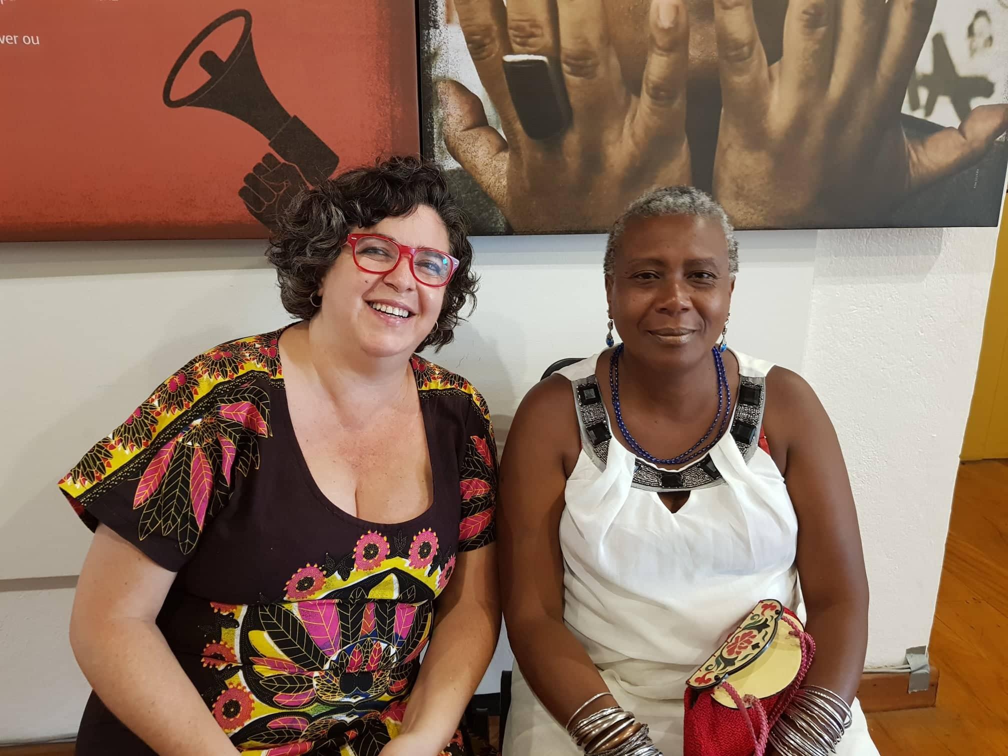 """[ENTREVISTA] Junia Torres e Isabel Casimira falam sobre """"A RAINHA NZINGA CHEGOU"""""""